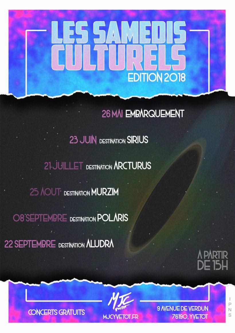 les samedis culturels concert yvetot mjc 2018