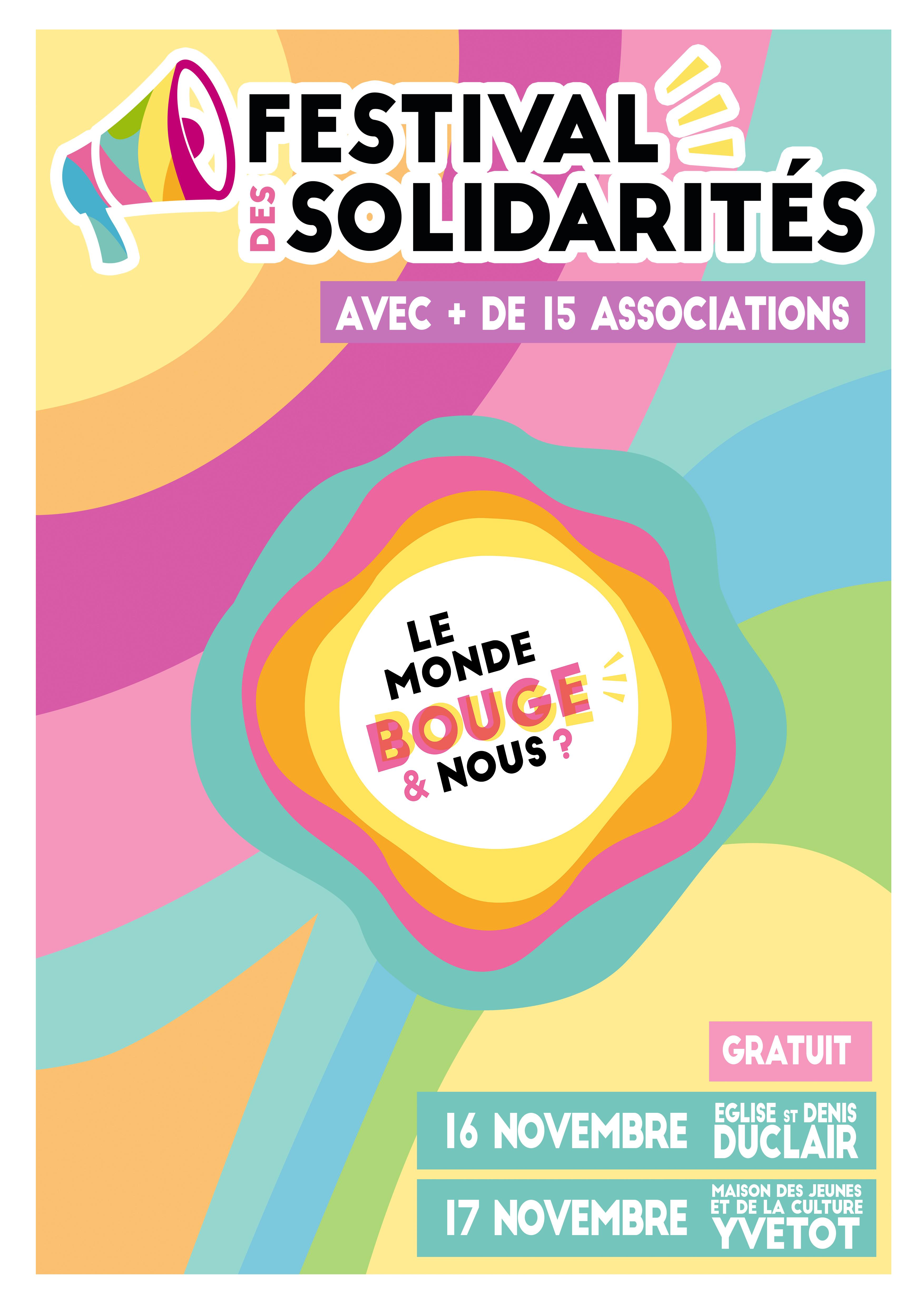 festival des solidarités yvetot duclair
